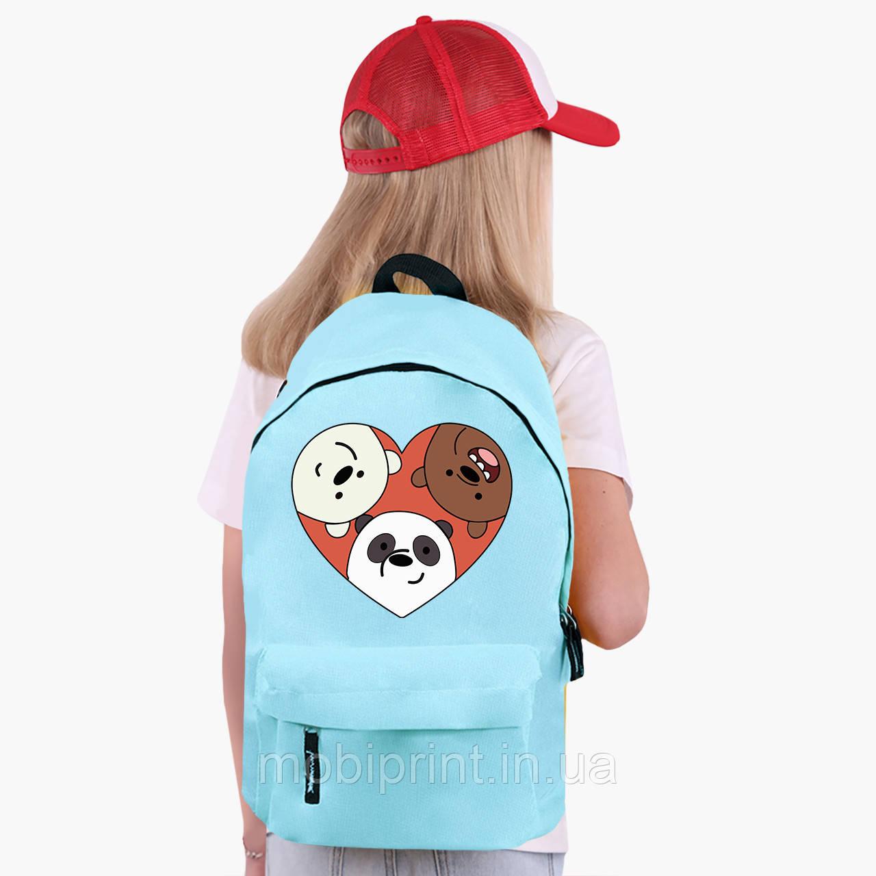 Детский рюкзак Вся правда о медведях (We Bare Bears) (9263-2669)