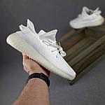 Женские кроссовки Adidas Yeezy Boost 350 (белые) 20271 спортивные повседневные кроссы, фото 2