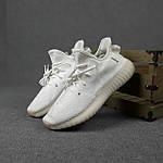 Женские кроссовки Adidas Yeezy Boost 350 (белые) 20271 спортивные повседневные кроссы, фото 5