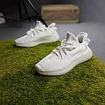 Женские кроссовки Adidas Yeezy Boost 350 (белые) 20271 спортивные повседневные кроссы, фото 9
