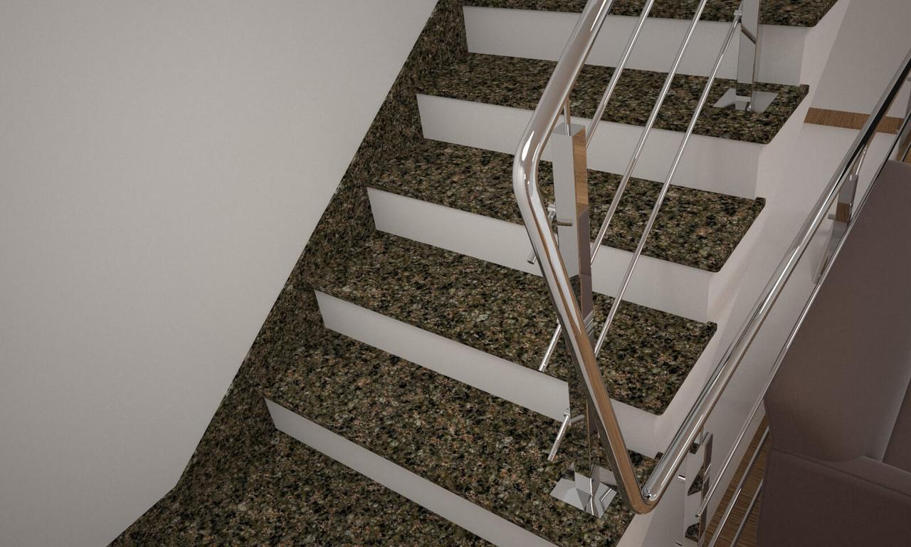 Сходи, стільниці, підвіконня з Василівського граніту
