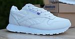 Женские кроссовки Reebok Classic с перфорацией (белые) 20084 повседневные спортивные кроссы, фото 9