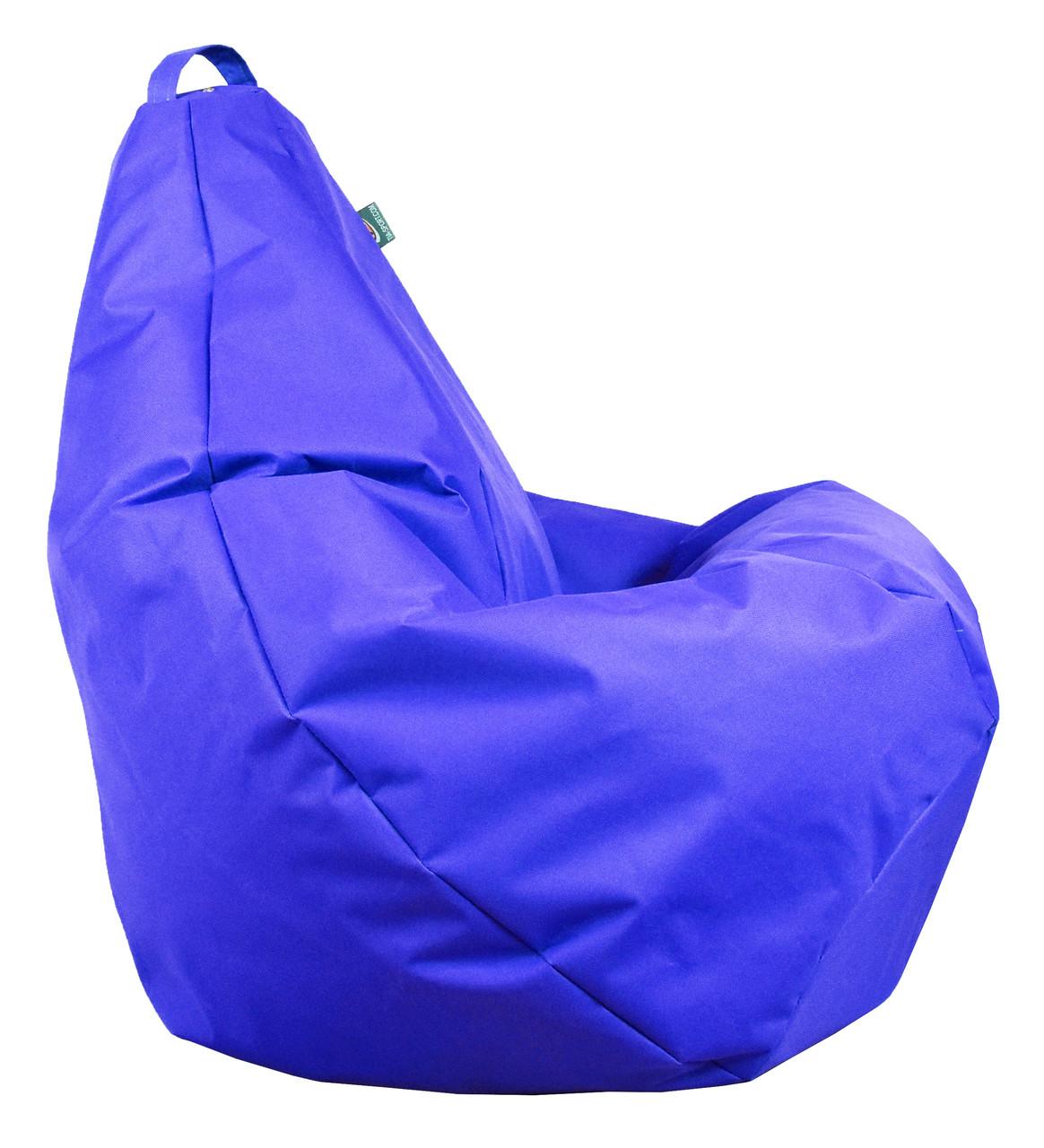 Крісло груша Оксфорд Синій TIA-SPORT