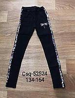 Джеггинсы  для девочек оптом, Seagull, размеры 134-164, арт. CSQ-52524, фото 1