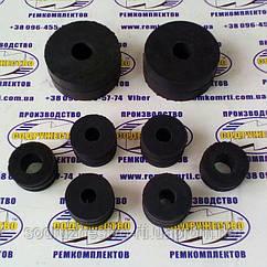 Комплект подушок підвіски радіатора (5320-1302060-10) КамАЗ