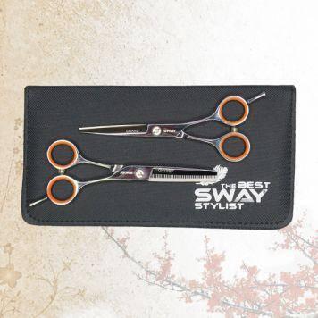 Набор парикмахерских ножниц Sway Grand 402 размер 5,5