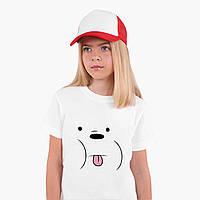 Футболка дитяча Білий ведмідь Вся правда про ведмедів (We Bare Bears) Білий (9224-2662), фото 1
