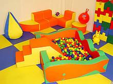 Модульные игровые мягкие комнаты до 30 кв.м