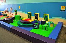Мягкая детская игровая зона до 50 кв.м TIA-SPORT