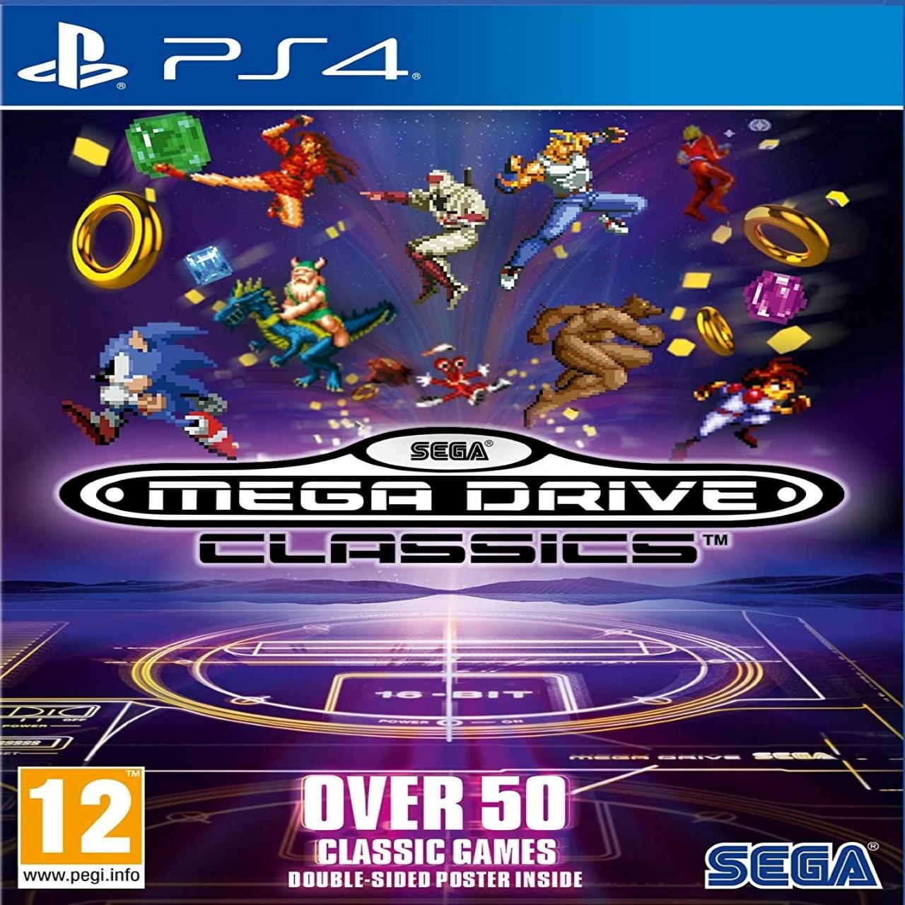 SEGA Mega Drive Classic Collection (английская версия) PS4