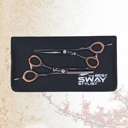 Набор парикмахерских ножниц Sway Grand 401 размер 6