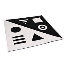 Килимок-мат чорно-білий TIA-SPORT