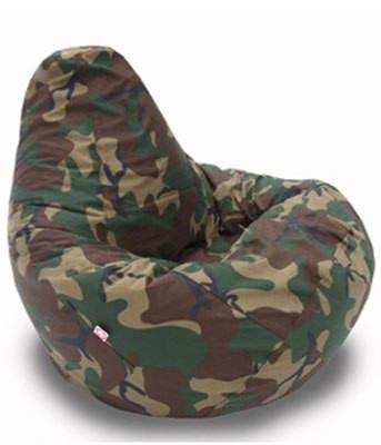 Кресло груша Оксфорд хаки TIA-SPORT
