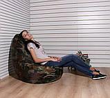 Кресло груша Оксфорд хаки TIA-SPORT, фото 2