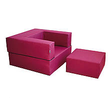 Комплект меблів Zipli (крісло і пуф) TIA-SPORT