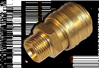 """Коннектор РН 1/2"""" - латунь, SE2-4SM"""