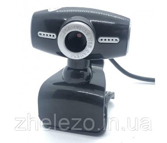 Веб-камера Voltronic W-DC-519/18771 с гарнитурой Black/Silver, фото 2