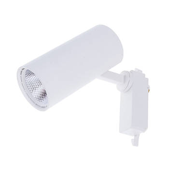 Світильник трековий поворотний LED KW-233 / 20W CW WH
