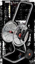"""Візок для шлангу поливу металева, 1/2"""" місткість 50м, ZINCATO, AG210 Польща"""