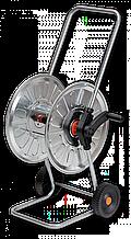 """Візок для шлангу поливу металева 1/2"""" 60м, ZINCATO, AG212 Польща"""