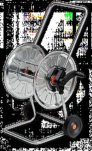 """Візок для шлангу поливу, металева 1/2"""" місткість 80м, ZINCATO, AG310 Польща"""