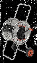 """Візок для шлангу поливу , нержавіюча сталь, 1/2"""" місткість 80м, CARINOX, AG4280 Польща"""