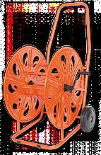 """Візок для шлангу поливу , металева 3/4"""" 140м, PROFESSIONAL, AG320 Польща"""