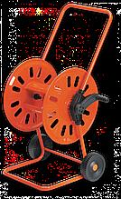"""Візок для шлангу поливу металева 1/2"""" місткість 80м KORAL, AG311 Польща"""