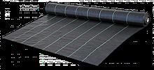 Агроткань для мульчування проти бур'янів, чорна, UV, 70 гр/м2 розмір 0,4 х 100м, AT7004100 Польща