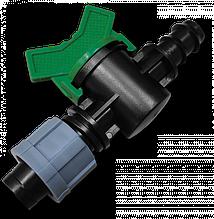 Миникран лента/ Соединитель для трубки  16мм, DSTZ01-1617L