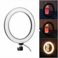 Кільцева світлодіодна Led лампа для блогера селфи фотографа візажиста D 26 см Ring