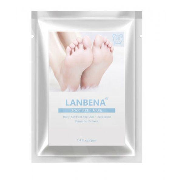 Маска-пилинг для ног LANBENA LAVENDER FOOT PEEL MASK отшелушивающая  1 шт
