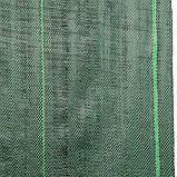 Агроткань для мульчування проти бур'янів, зелена, 110г, 1,2х100м, ATGR11012100 Польща, фото 3
