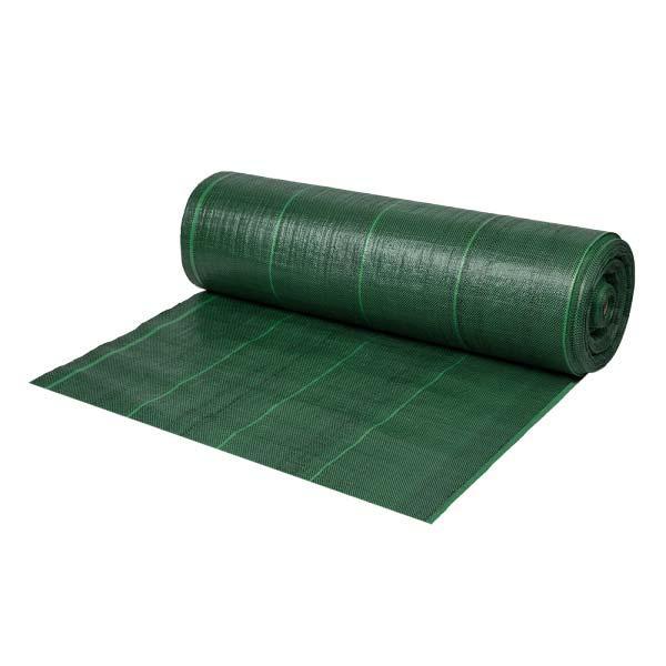 Агроткань для мульчирования против сорняков, зеленая, 110г, 1,6х100м, ATGR11016100 Польша