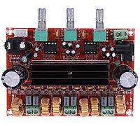 Плата усилитель сабвуфер TPA3116D2 2.1, 12-24 В, 4 А, 50x2 Вт + 100 Вт