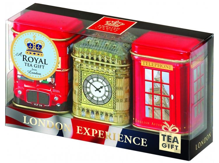Черный чай Ahmad Tea листовой London Experience 25 х 3 г