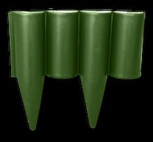 Палисад, PALGARDEN, бордюр садовый зеленый, 2,5 м, OBP1202-002GR Польша
