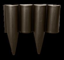 Палисад, бодюр садовый газонный PALGARDEN, коричневый, 2,5 м, OBP1202-002BN Польша