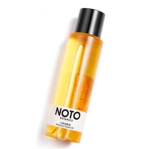 Пом'якшувальну масажне масло для особи NOTO BOTANICS Ginseng Emollient Oil з екстрактом женьшеню 120 мл