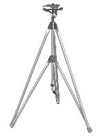 Ороситель пульсирующий на штативе, высота 155 см TRITON XL, площадь орошения 598 м2 WHITE LINE, WL-Z34 Польша