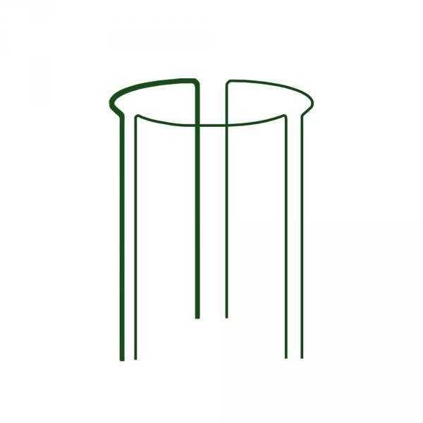 Кільцева опора для рослин, 1/3 кола, D=40см, H=60см, TYRP34060
