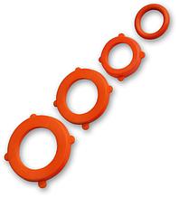 Комплект прокладок ORANGE - 4 х 6 шт, ECO-UO424