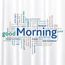 Штора для душу Tatkraft Good Morning з кільцями 12шт 180Х180см (18174), фото 2