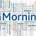 Штора для душу Tatkraft Good Morning з кільцями 12шт 180Х180см (18174), фото 3