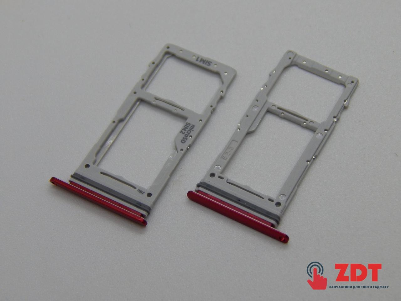 SIM лоток для Samsung N770 Galaxy Note 10 Lite Red