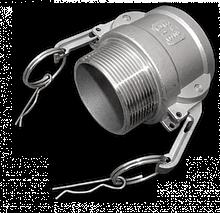 "KAMLOK Тип B - РЗ 4""- нерж/сталь, CGB400A/SS"