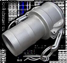 "KAMLOK Тип C - На шланг 11/2""- нерж/сталь, CGC150A/SS"