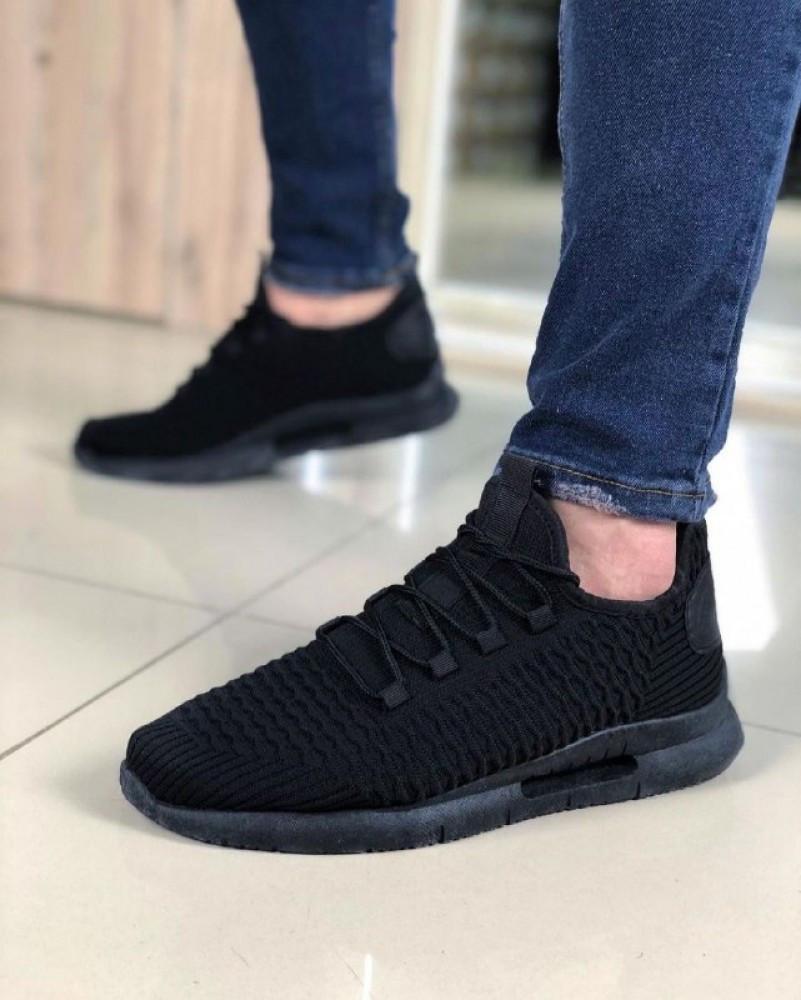Мужская Обувь Фиш Черные