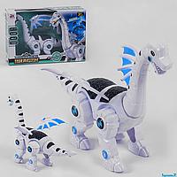 Робот Динозавр 845 B, световые, звуковые эффекты, ходит, в коробке, фото 1