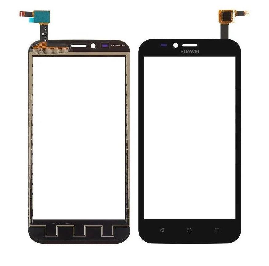 Сенсор (Тачскрін) для телефону Huawei Y625-U32 Ascend (Чорний) Оригінал Китай